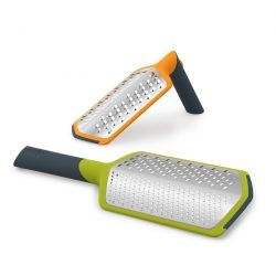 Twist Grater - extra coarse & ribbon and Twist Grater - course & fine